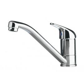 Ceramic tap with mixer