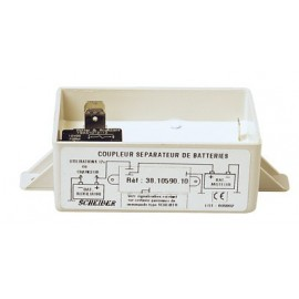 Coupler/battery separator for 2 batteries 110A
