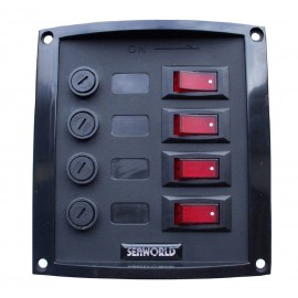 Voltmeter diode 3 batteries SCHEIBER