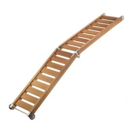 Super Light foldable wood gangway