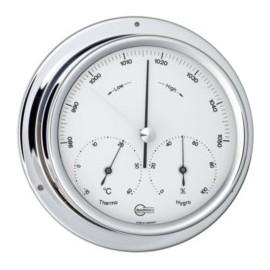 BARIGO Range 100 chrome barometer-thermometer-hygrometer