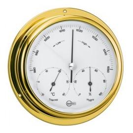 BARIGO Range 100 brass barometer-thermometer-hygrometer