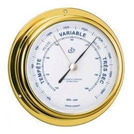 BARIGO Range 70 brass barometer