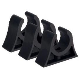 Pinza soporte plástico robusta x2