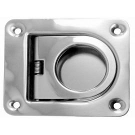 Stainless steel flush lifter ring