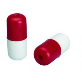 Boya cilíndrica roja/blanca