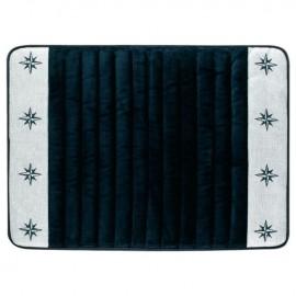 Freestyle bathroom non slip mat - Navy blue