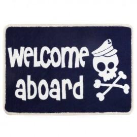 Welcome Skull non slip mat