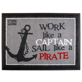 Tapis antidérapant Pirate