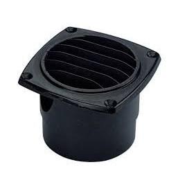 Cast round plastic grille