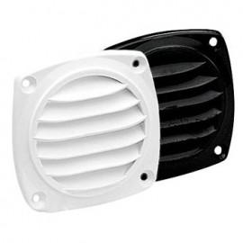 White round plastic grille