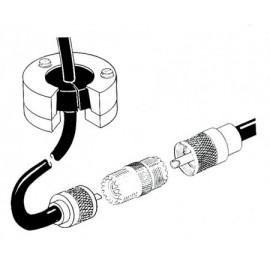 Kit pasa-cable VHF