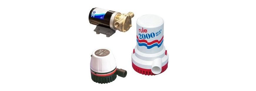 Electric bilge pumps