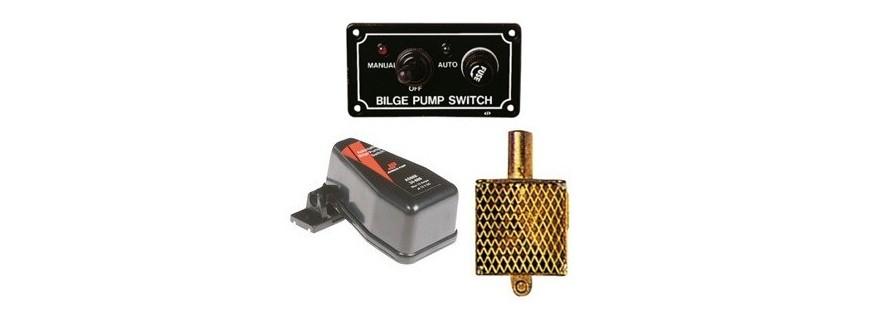 Accessories for bilge pumps