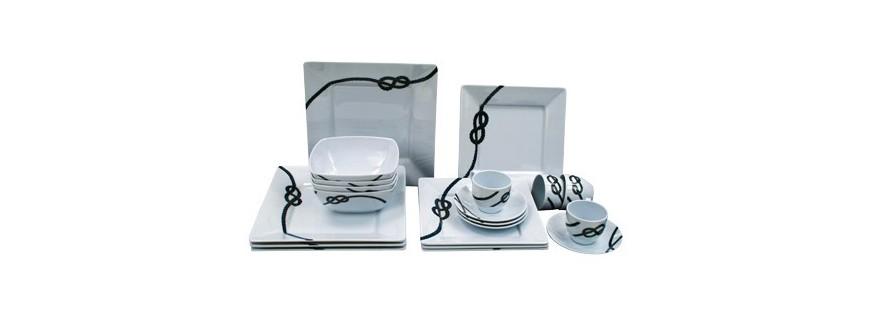 Crockery, cutlery and glassware